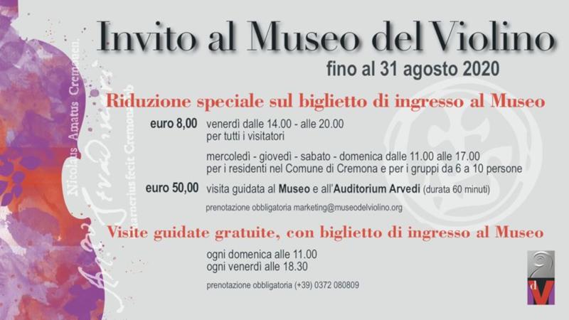 invito museo violino