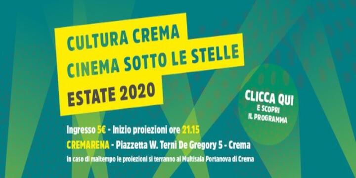 CremArena Cinema Sotto le Stelle Eventi, serate..robe