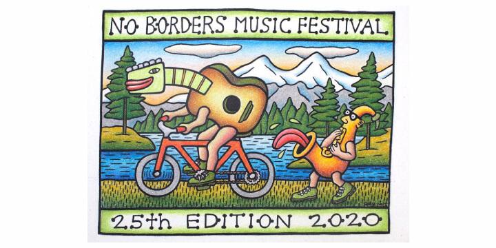 No Borders Music Festival 2020 Eventi, serate..robe