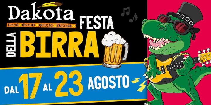 Festa della Birra 2020 Dakota pub Eventi, serate..robe