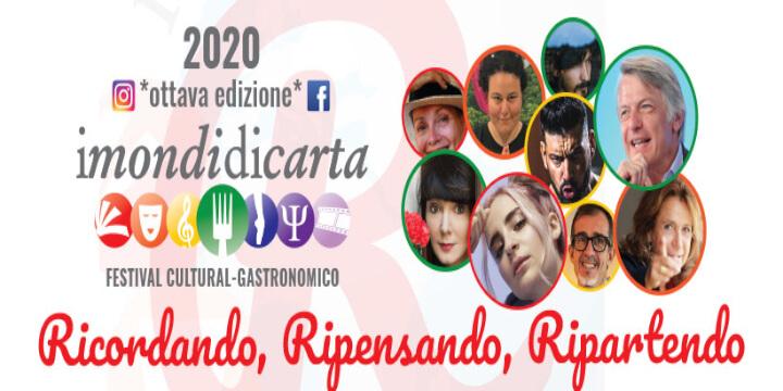I Mondi di Carta Festival 2020 Eventi, serate..robe