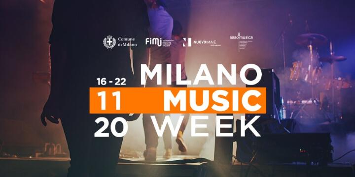 Milano Music Week 2020 Eventi, serate..robe