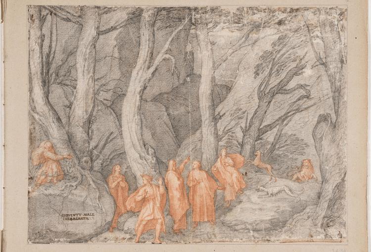 Screenshot 2021 01 19 Gli Uffizi lanciano una mostra virtuale su Dante coi disegni della Commedia di Federico Zuccari1 750x510 #Dante Illustrato