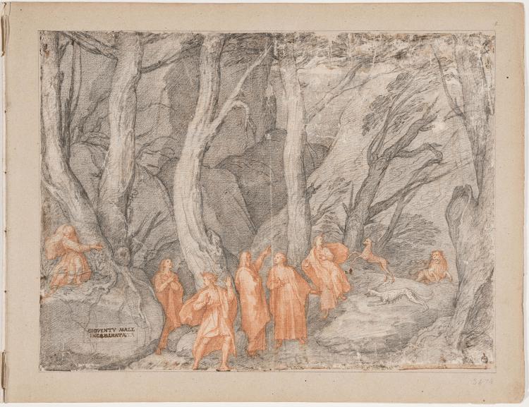 Screenshot 2021 01 19 Gli Uffizi lanciano una mostra virtuale su Dante coi disegni della Commedia di Federico Zuccari1 Eventi, serate..robe
