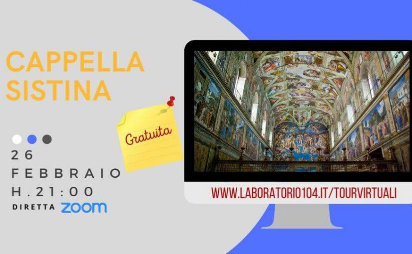 145007412 3647081035327121 4218778360753654739 o1 825x510 #26 Febbraio Tour Online gratuito: la Cappella Sistina