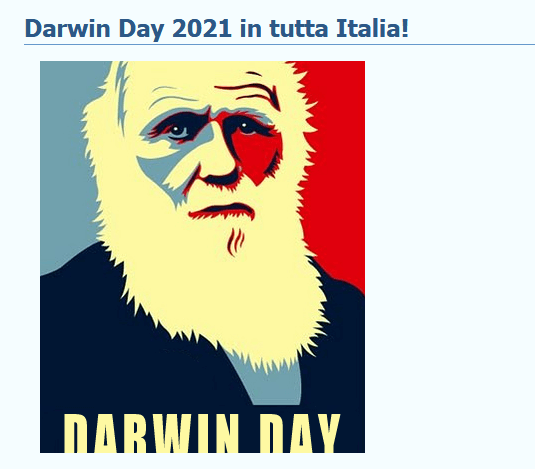 Screenshot 2021 02 06 Darwin Day 2021 in tutta Italia 1 Eventi, serate..robe