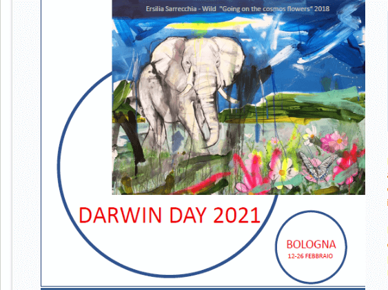 Screenshot 2021 02 07 Darwin Day 2021 a Bologna Darwin e la biodiversita1 #Apertura Musei