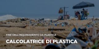 Calcola il personale consumo di plastica