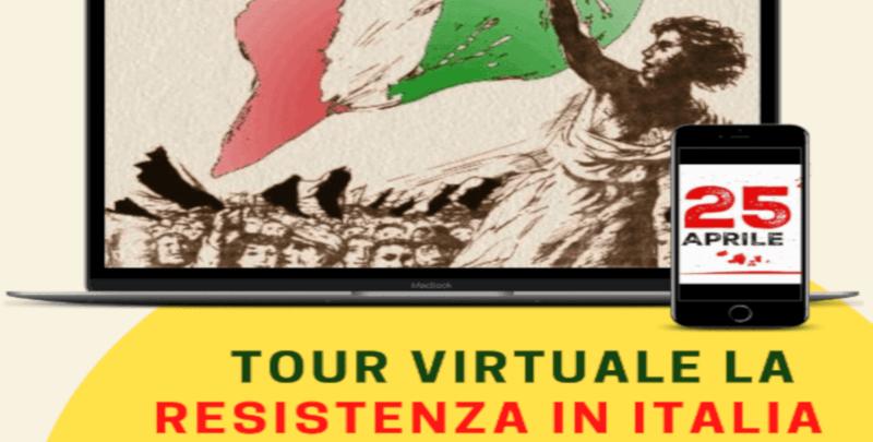 Screenshot 2021 04 22 Tour Virtuale la Resistenza in Italia 27 aprile alle 211 Eventi, serate..robe