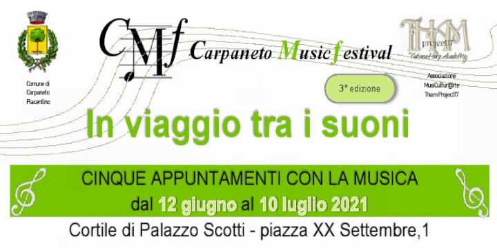 Carpaneto Music Festival 2021 Carpaneto Piacentino