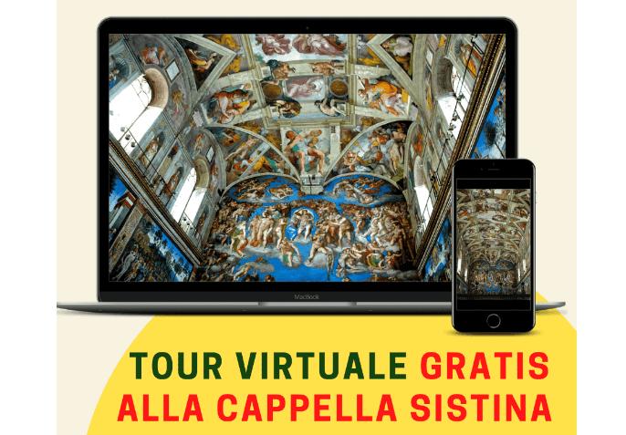 Screenshot 2021 07 04 at 15 29 18 Tour Virtuale Gratuito alla Cappella Sistina 8 Luglio alle 211 Eventi, serate..robe
