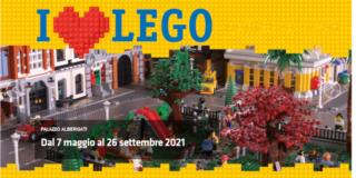 A Palazzo Albergati I LOVE LEGO