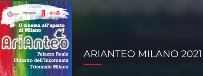 Screenshot 2021 07 05 at 10 27 46 ARIANTEO MILANO 2021 — Anteo Eventi, serate..robe