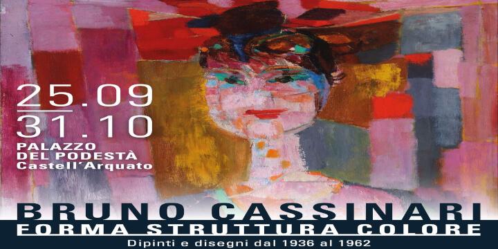 Mostra Bruno Cassinari Castellarquato Piacenza Palazzo del Podestà